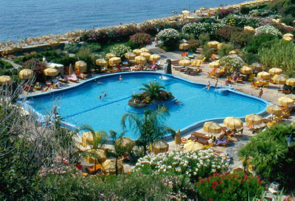 Ischia Poseidon Garten